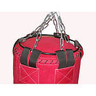 Боксерский мешок SPURT (130х40) кожа 2,2-3,0 мм Красный, фото 2