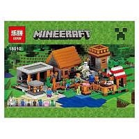 18010 Конструктор Lepin 18010 Деревня (аналог Lego Майнкрафт, Minecraft 21128)