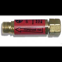 Клапан обратный огнепреградительный , А/П/М,  М12х1,25LH, редуктор