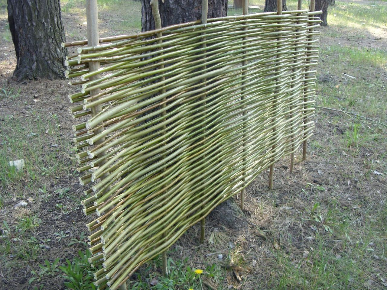 f54c779892e05f Плетеный(плетень) забор из лозы - Верболоз , цена 140 грн./кв.м, купить в  Киеве — Prom.ua (ID#36363866)
