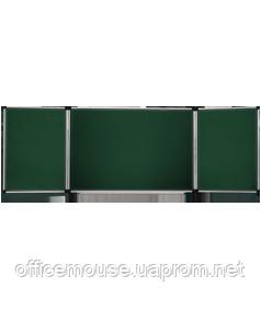 Дошки для крейди 5 робочих поверхонь, 100х400
