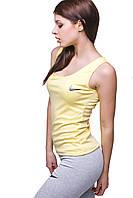 Женский спортивный костюм С-10 Желтый