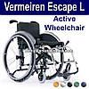 Легкая Активная Инвалидная Коляска. Vermeiren Escape L Active Wheelchair