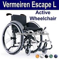 Легкая Активная Инвалидная Коляска. Vermeiren Escape L Active Wheelchair, фото 1