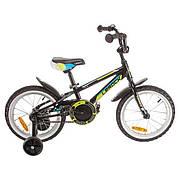 """Велосипед 16"""" Lerock RX16 Boy, черный"""