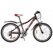 """Велосипед 24"""" Lerock RX24, черный"""