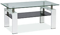 Журнальный столик Lisa II стеклянный SIGNAL (11 цветов)