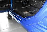 Накладки на пороги Citroen C1 (накладки порогов Ситроен С1)