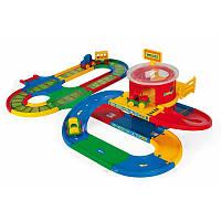 Детская игрушка для мальчиков Вокзал с Дорогой Kid Cars Wader