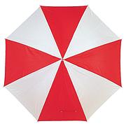 Зонт трость RAINY, 131см Красный и Белый