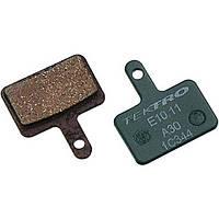 Тормозные колодки дисковые Tektro E10.11, зеленый