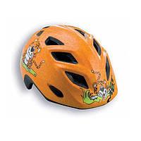 Шлем детский MET 2015 ELFO оранжевый/гепард, 46-53см