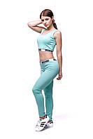 Женский спортивный костюм С-11 Бирюза