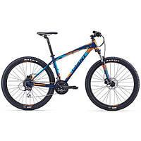 """Велосипед 27.5"""" Giant 2016 Talon 4, темно-синий, M"""