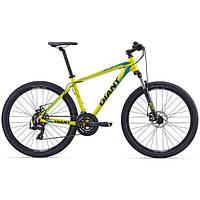 "Велосипед 27.5"" Giant 2016 ATX 2, желтый, М"