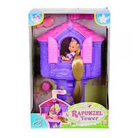 Детский Кукольный Домик Evi Рапунцель в Башне Simba