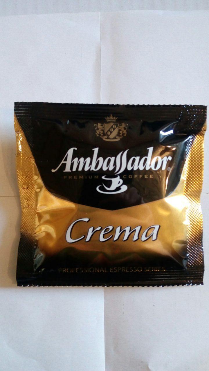 Кофе в чалдах Ambassador Crema 100 шт