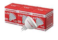 Светодиодные лампы Economka LED MR16 6W СУПЕРПАК 3шт GU5.3-2800 К