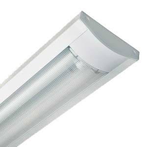 Светильник Lemanso 2x18 T8 две лампы мат. плафон (без ламп) LM 918 + ПОДАРОК: Настенный Фонарик с регулятором, фото 2