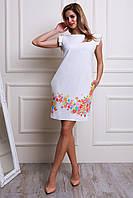 Празничное платье прямого кроя Размеры: 44,46,48