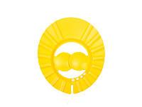 Козырёк для мытья головы (жёлтый), Lindo, K1564