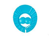 Козырёк для мытья головы (голубой), Lindo, K1562
