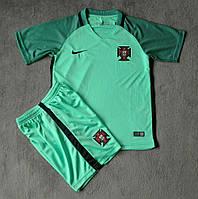 Форма детская Португалия (зеленая)