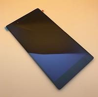 Оригинальный дисплей (модуль) + тачскрин (сенсор) для Lenovo TAB 3-730   3-730F   3-730M   3-730X (черный)