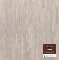 Паркетная доска Tarkett Salsa Дуб Нордик (Oak Nordic White) WSALA-ROA18PNBT227