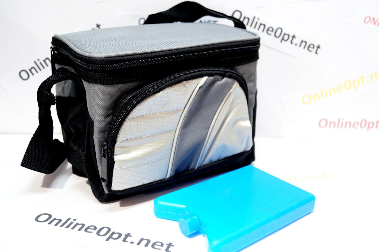 Термо сумка  на 4л с батареей холода 603 на змейке