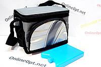 Термо сумка  на 4л с батареей холода 603 на змейке, фото 1