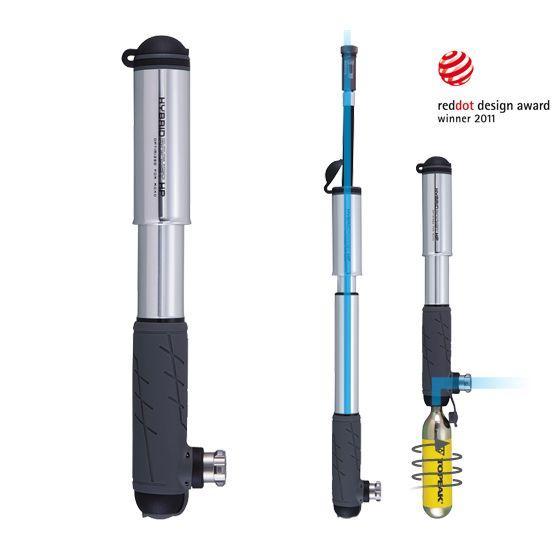 Ручной комбинированный мининасос Topeak Hybrid Rocket HP