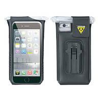 Кейс для телефона Topeak Smartphone DryBag iPhone 6S/6S Plus с фиксатором, чёрный