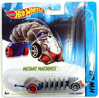 МАШИНКИ-МУТАНТЫ HOT WHEELS  CYBORG CRUSHER CGM81 BBY78