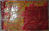 Платок из натурального шелка 100% Атлас 90*90см