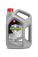 TEXACO HAVOLINE Ultra S 5W-40, Моторное, Синтетическое, 4 л