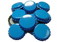 Крышки пивные синие. Кроненпробки 100 шт 26 мм, фото 2