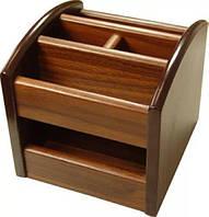Органайзер вращающийся деревянный NR-330
