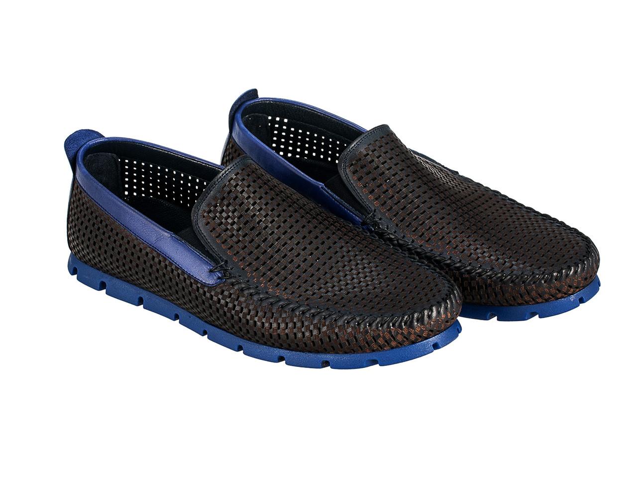 Мокасины Etor 10349-16654-578 синие