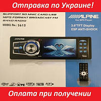 Магнитола MP4 Alpine 3612 дисплей 3.6