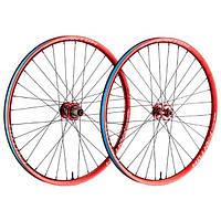 """Обод 26"""" Funn Fantom Rim width In.23mm Ex.28mm, Disc Brake Anod. Red 32H"""