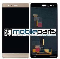 Оригинальный Дисплей (Модуль) + Сенсор (Тачскрин) для  Huawei P9 (Золотой)