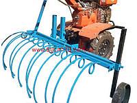 Грабли для мотоблока (1,2м) грабли для сена уборка сена