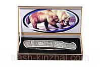 Складной ножик, складывающийся, Bear - Медведь с красивой коробкой на подарок.