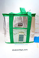 Термо сумка на 35л с батареей холода  на змейке