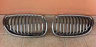 Решетка радиатора ноздри тюнинг BMW E60 хром