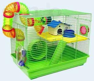 Клетки для мелких грызунов (хомяков,джунгариков,крыс)