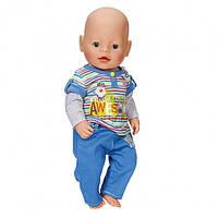 Одежда для куклы беби борн 43 см Baby Born  костюм для мальчика Zapf Creation