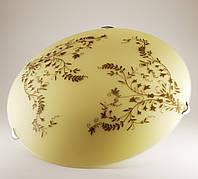 Круглый накладной потолочный светильник для кухни 3*60Вт Vesta Light 25160