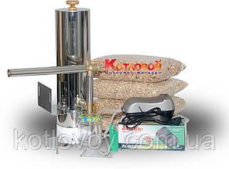 Дымогенератор для холодного и горячего копчения нержавеющая сталь 2 мм.+сбор конденсата